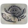 Overlaid silver Southwest Belt Buckle 23357