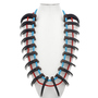 Grizzly Bear Claw Turquoise Necklace 29709