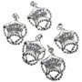 Sterling Silver Happy Birthday Balloon Charm Bracelet Charm Pendant Necklace