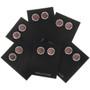 Southwest Gemstone Silver Earrings 28006