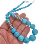 Turquoise Graduating Beads Necklace 29697
