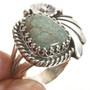 Green Turquoise Navajo Ring 27822