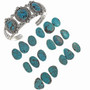 Variations in Genuine Turquoise Stones  20923