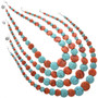 Native American Bead Necklaces 25177