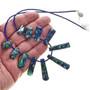 Jasper Fringe Designer Necklace 29060