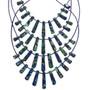 Lapis Heishi southwest Necklaces 29060