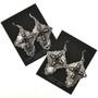 Santa Fe Cross French Hook Earrings 28852