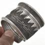 Vintage Native American Silver Cuff 29163