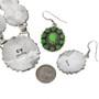 Green Gemstone Cluster Jewelry 29623