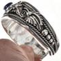 Southwest Navajo Gemstone Silver Bracelet 28998