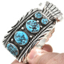 Turquoise Sterling Navajo Bracelet 30438
