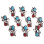 Native American Turquoise Silver Rings 28532