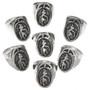 Native American Silver Mens Rings 29703