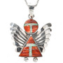 Opal Spiny Oyster Sterling Pendant with Chain 29525