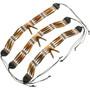 Tribal Bone Bead Neck Choker 26136