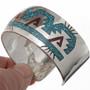 Mens Sterling Southwest Bracelet 26000