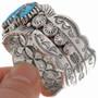 Navajo Turquoise Cuff Bracelet 23988