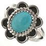 Navajo Turquoise Ladies Ring 28667