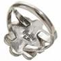 Native American Ladies Silver Ring 28667