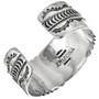 Hammered Sterling Cuff Bracelet 25712