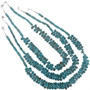 Native American Cluster Bead Necklace 24200