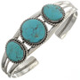 Turquoise Silver Bracelet 25451