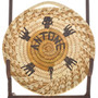 Papago Turtle Woven Wall Plaque 22486