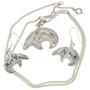 Silver Heartline Bear Deign 29613