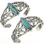 Navajo Kingman Turquoise Bracelets 29219