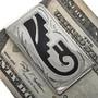 Hopi Rain Cloud Pattern Money Clip 21042