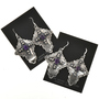 Gemstone French Hook Earrings 28851