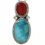 Southwest Two Stone Ladies Pendant 29307