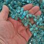 Sky Blue Spiderweb Turquoise Magnesite Beads 30867