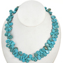 Turquoise Magnesite Teardrop 30867