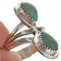 Native American Turquoise Ring 26334