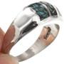 Sterling Turquoise Southwest Ring 29766
