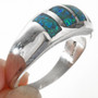 Navajo Mens Sleek Modern Ring 29527