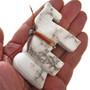 Hand Carved Alabaster Native Fetish 17300