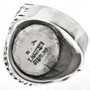 Sterling Native American Mens Ring 29681