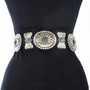 Sleeping Beauty Turquoise Concho Belt 29013