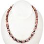 Navajo Spiny Oyster Garnet Necklace 29465