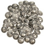 Silver Patterned Concho Buttons 229709