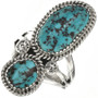 Bisbee Turquoise Ladies Ring 28567