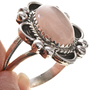 Navajo Ladies Silver Pink Ring 28683