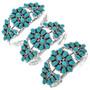 Navajo Cuff Cluster Pattern Bracelet 29353