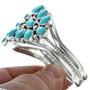 Kingman Turquoise Cluster Bracelet 29353