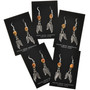Sterling Feather Indian Earrings 29403