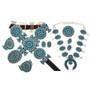 Navajo Queen Concho Belt Set 28694