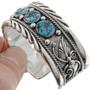 Native American Turquoise Cuff Bracelet 22441