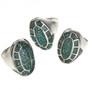 Shiprock Style Chip Inlay Jewelry 2514
